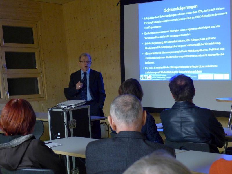 Einladung zu zwei Vorträgen in Zusammenarbeit mit der VHS Forchheim