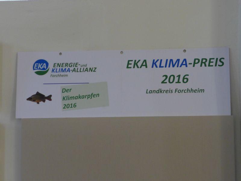 EKA Klima-Preis 2016 verliehen