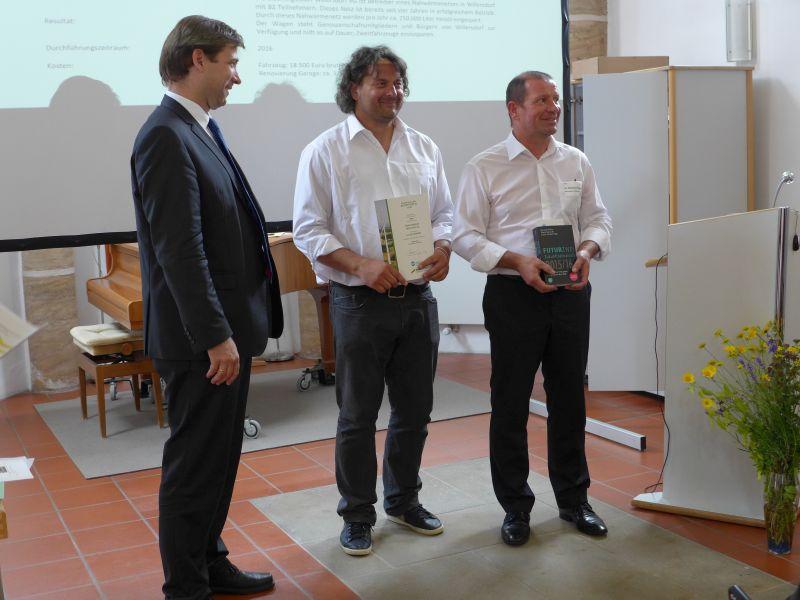 Sonderpreis der Naturstrom AG für eCarsharing Willersdorf