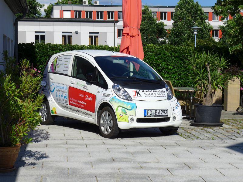 eCar des BioEnergieDorfs Willersdorf