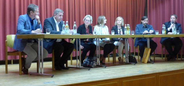 Podiumsdiskussion Klimaveränderungen und Energiewende in Oberfranken