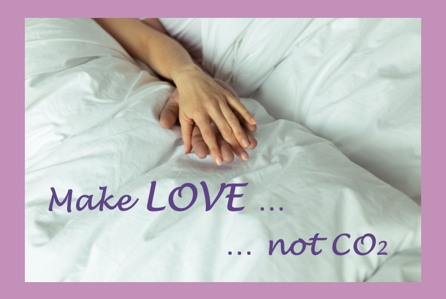 Make LOVE - not CO2