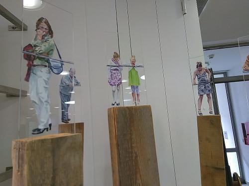 Claudia Wirth - Die Zeit läuft (Detail)